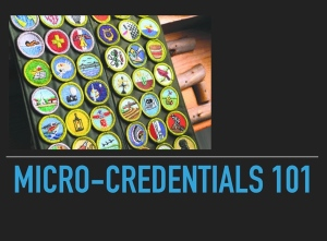 Micro-credentials 101